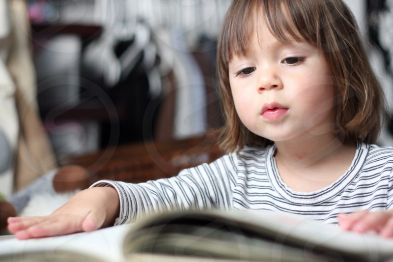 Young children love to read during Reading Workshop