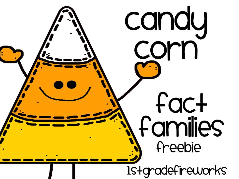 Candy Corn Fact Families FREEBIE