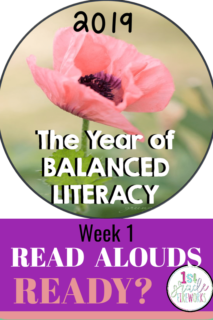 2019 the Year of BALANCED LITERACY!