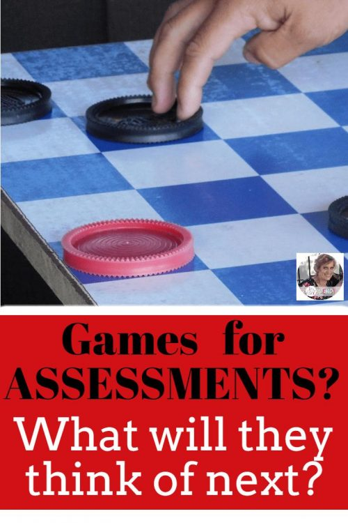 Games for Assessments. What will they think of next?