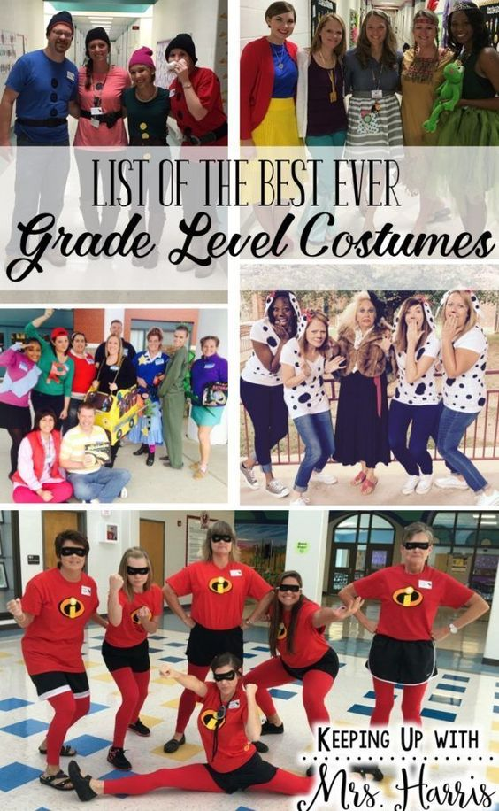 Teacher Group Costumes