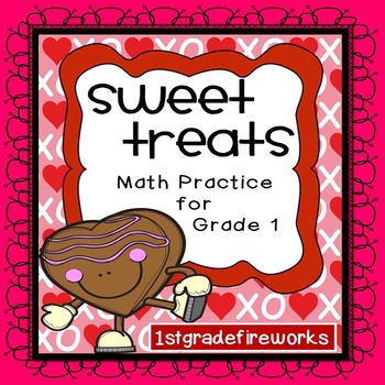 Missing Addends Math Center for Valentine's Day