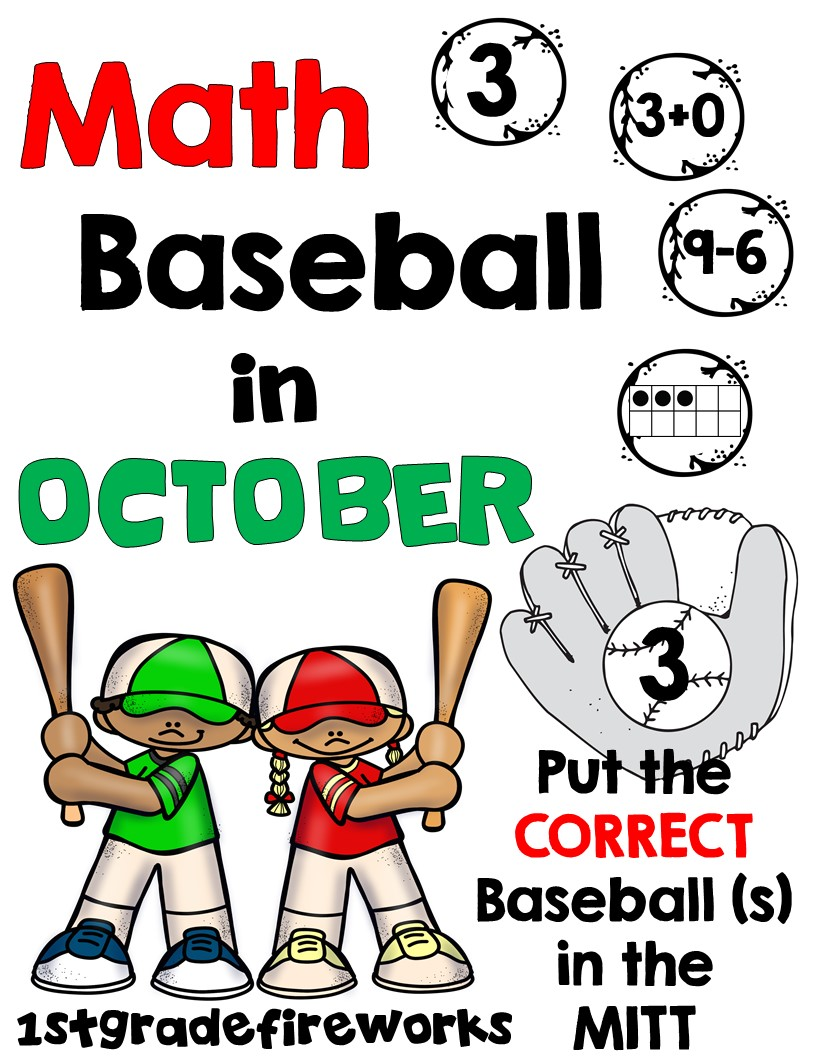 Math Baseball in OCTOBER
