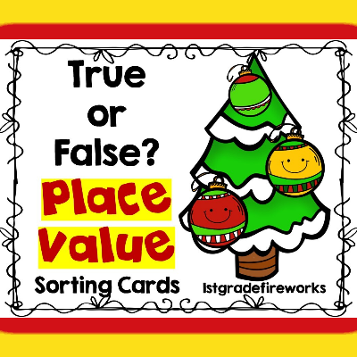 Place Value Ture or False Sorting